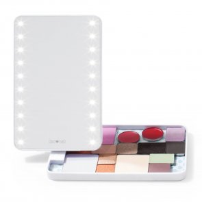 Glamcor Riki Colorful - Sminkspegel LED & Magnetpalett